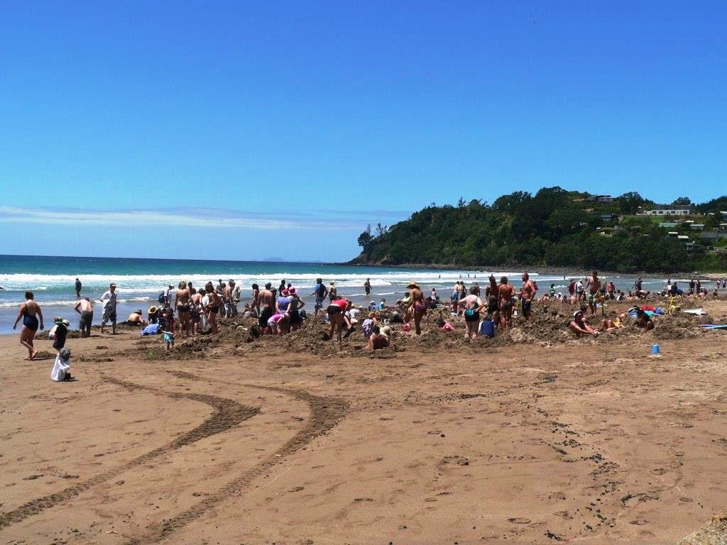 hot water beach, Coromandel Peninsula, Northern Island, New Zealand