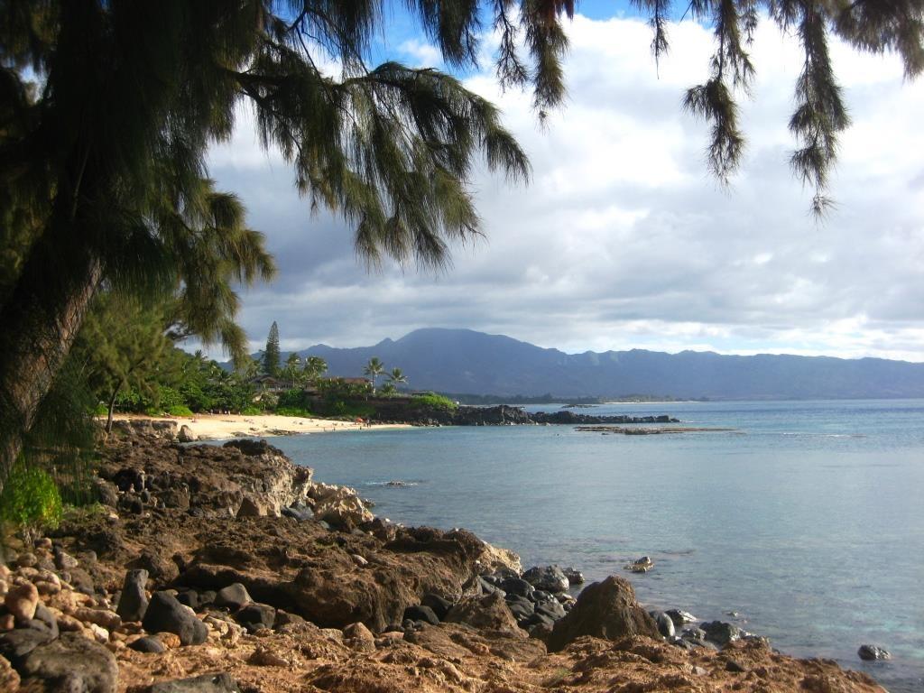 Three Tables Beach view