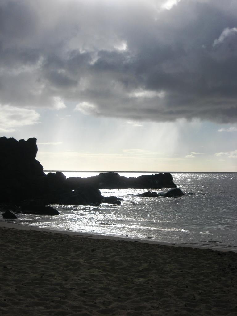 sunset at Three Tables Beach