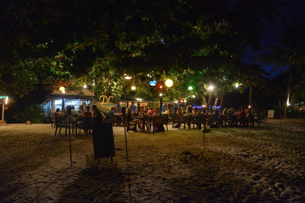 Thong Nai Pan Yai, dinner on the beach at Dreamland Resort