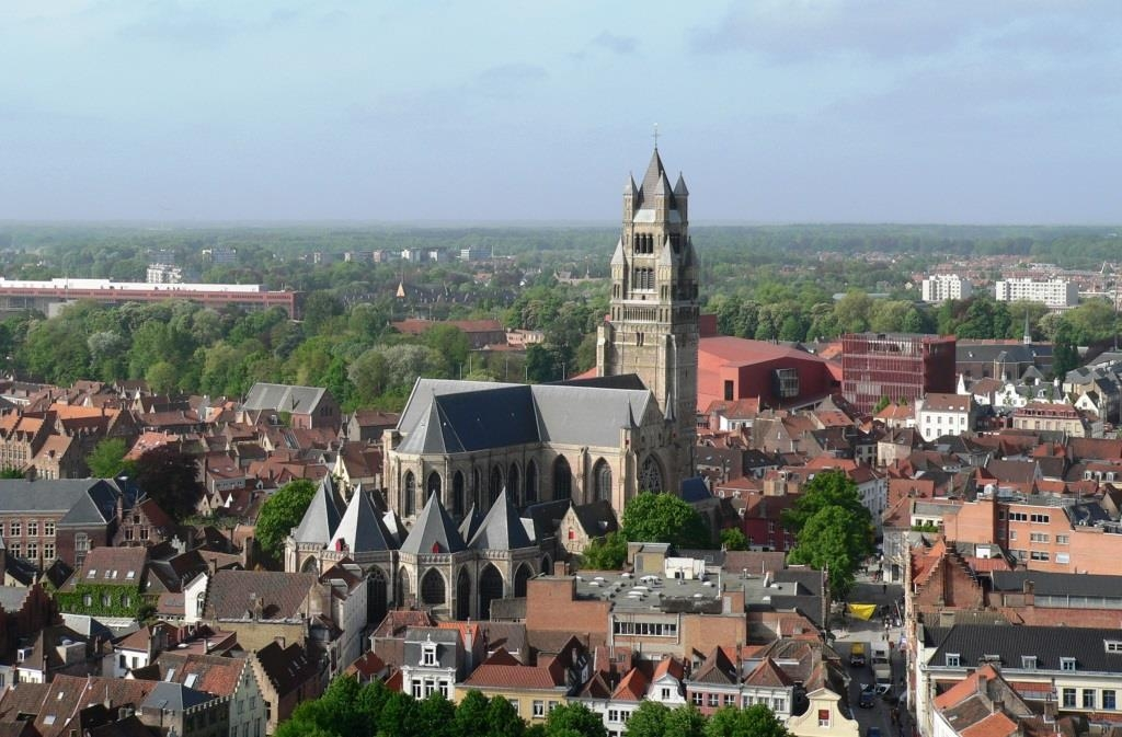 Bruges-from-above