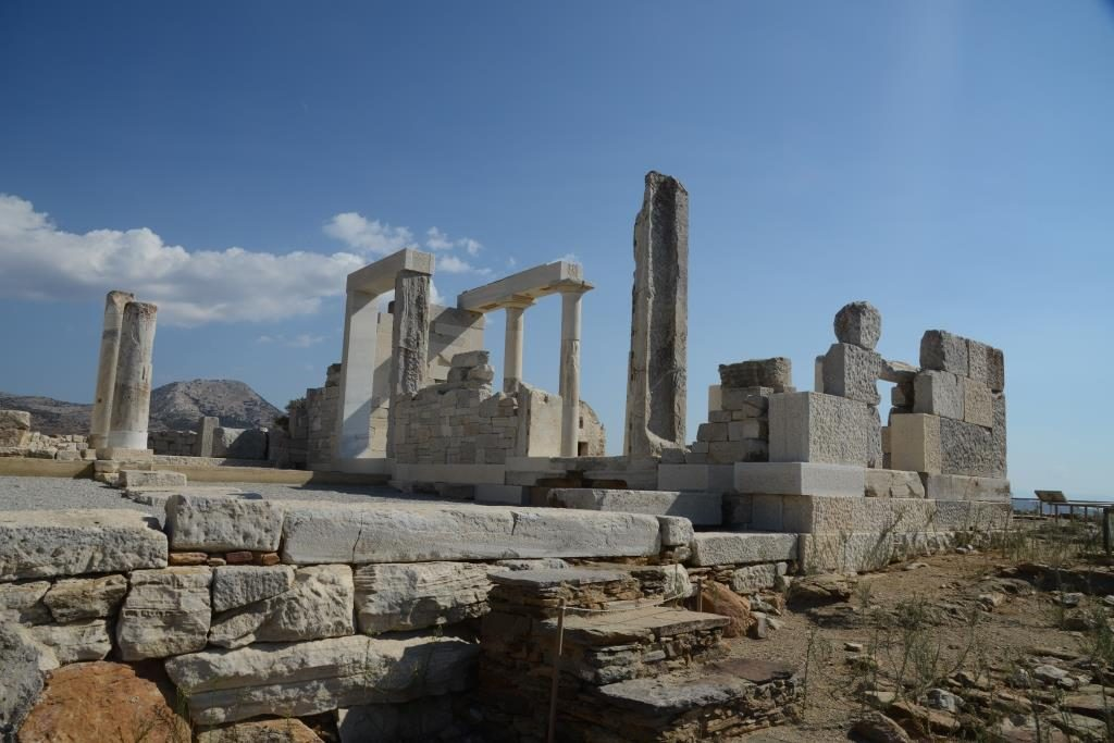 Demeter temple on Naxos