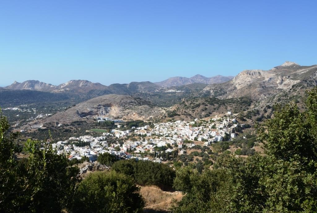 view of the village of Koronos
