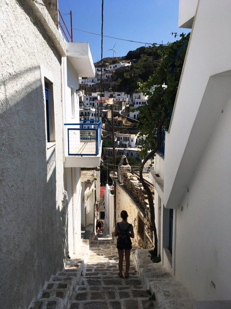 Stairways in Koronos