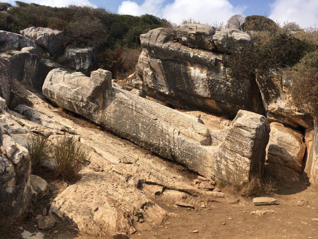 Kouros near Appolonas