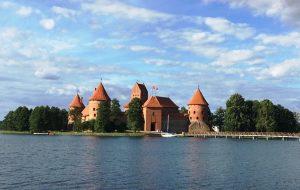 Trakai Island Castle from the shore