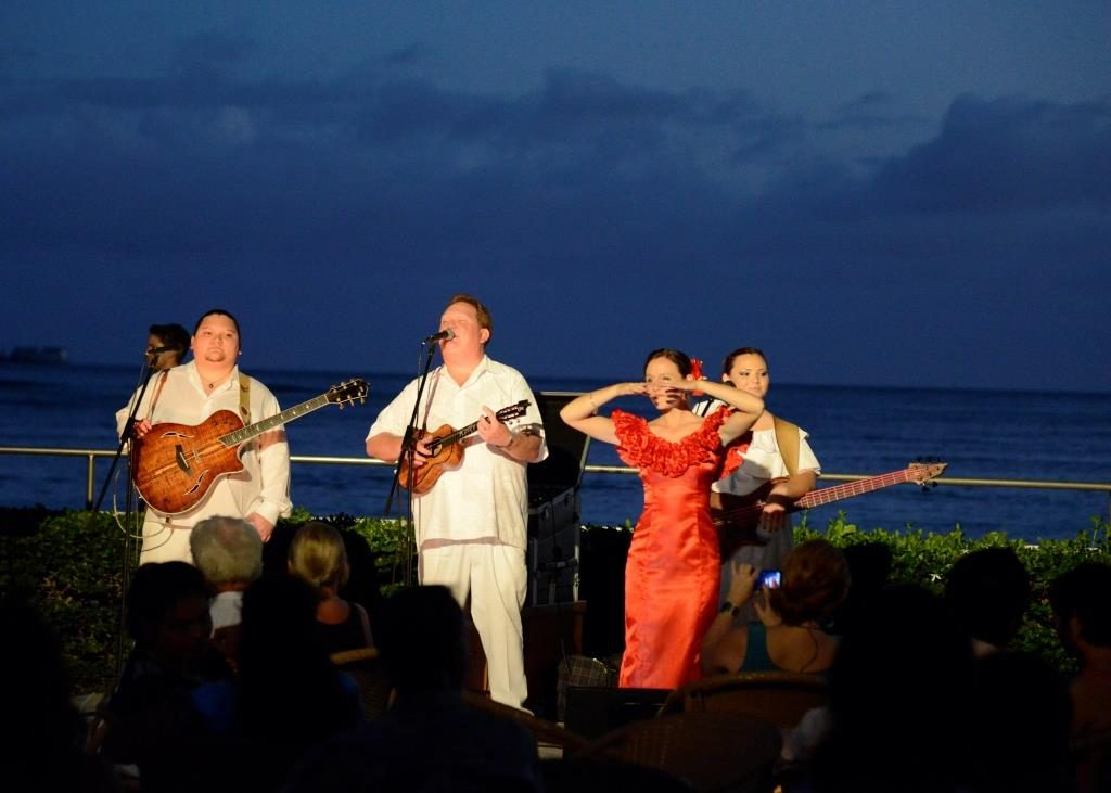 Hawaiian music at House without a Key