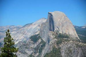 Half Dome panorama
