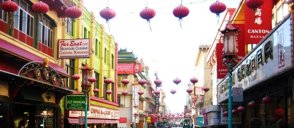 San Francisco China town street