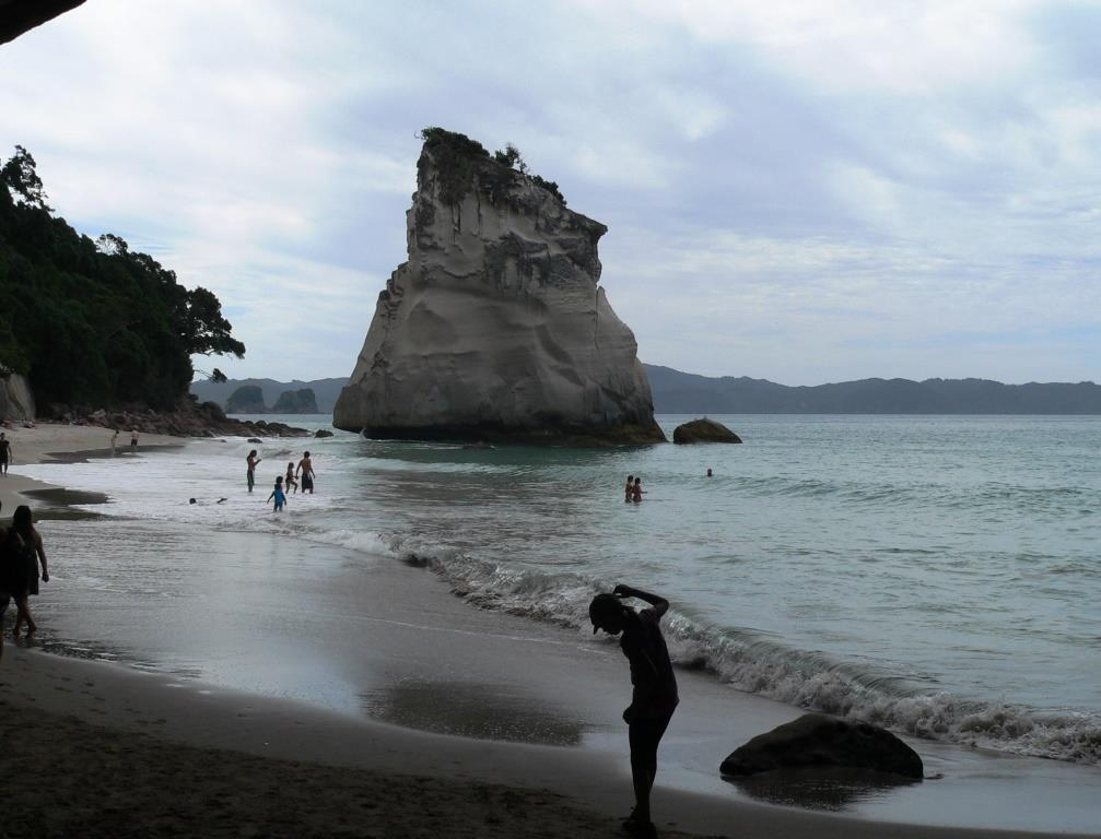 Cathedral Cove, rock