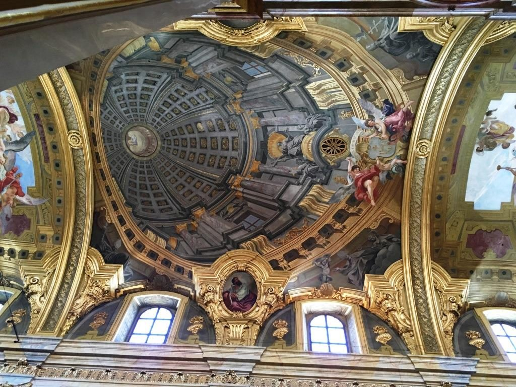 ceiling of St. Peter's Church