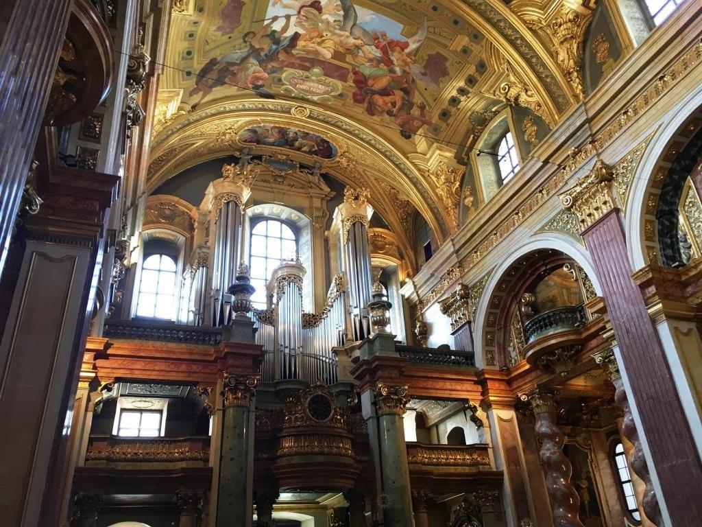 Pipe Organ of St. Peter's Church Vienna