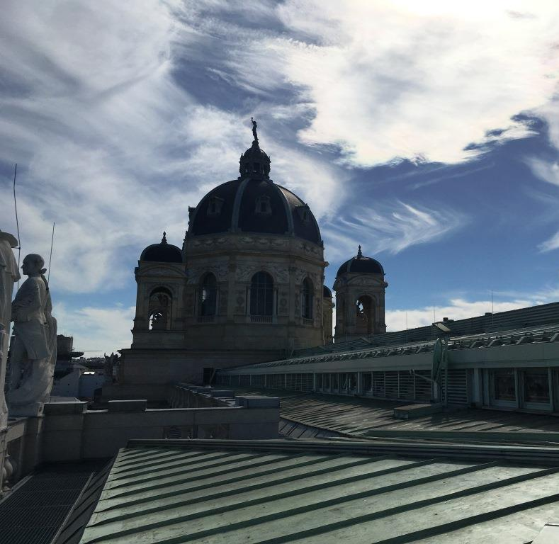 rooftop and cupola of the museum of natural history