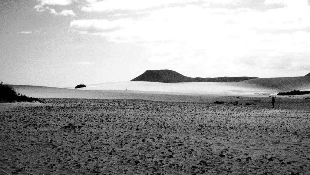 desert near El Cotillo