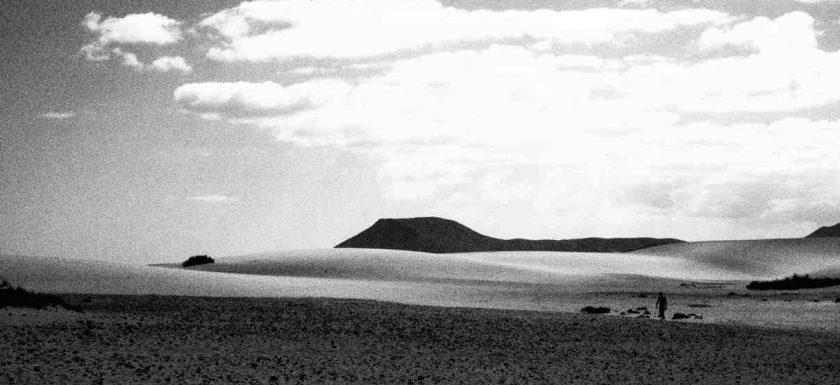 desert on Fuerteventura