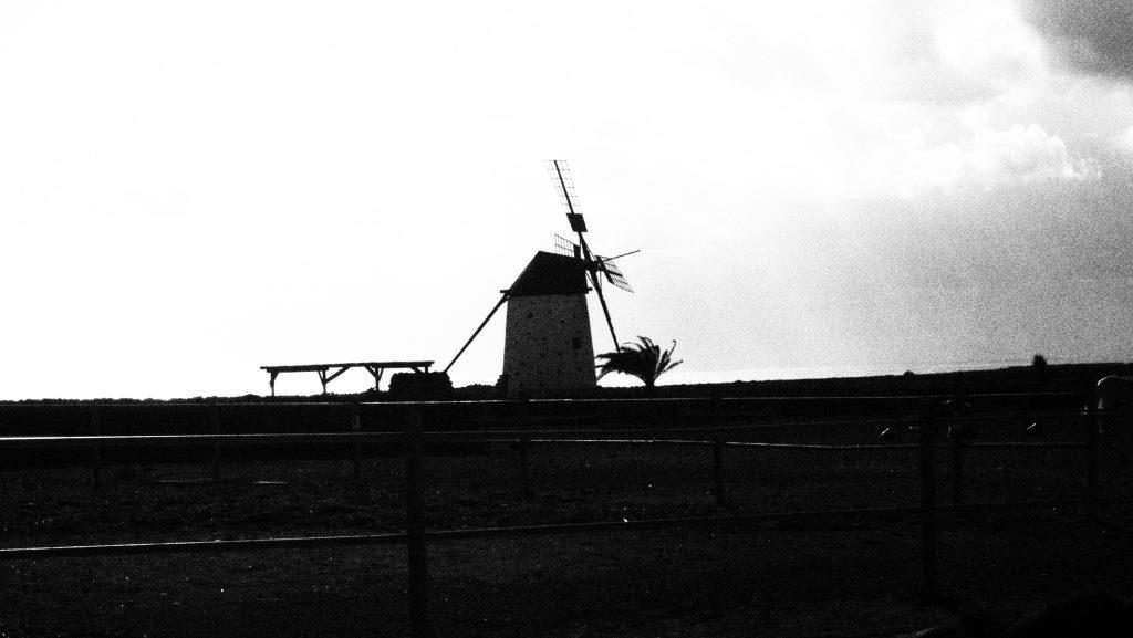 Wind Mill near El Cotillo