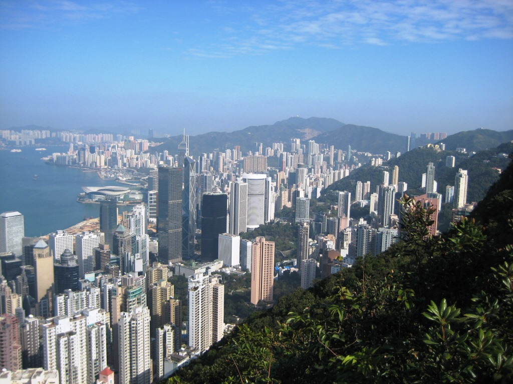 Hong Kong, view from the Peak