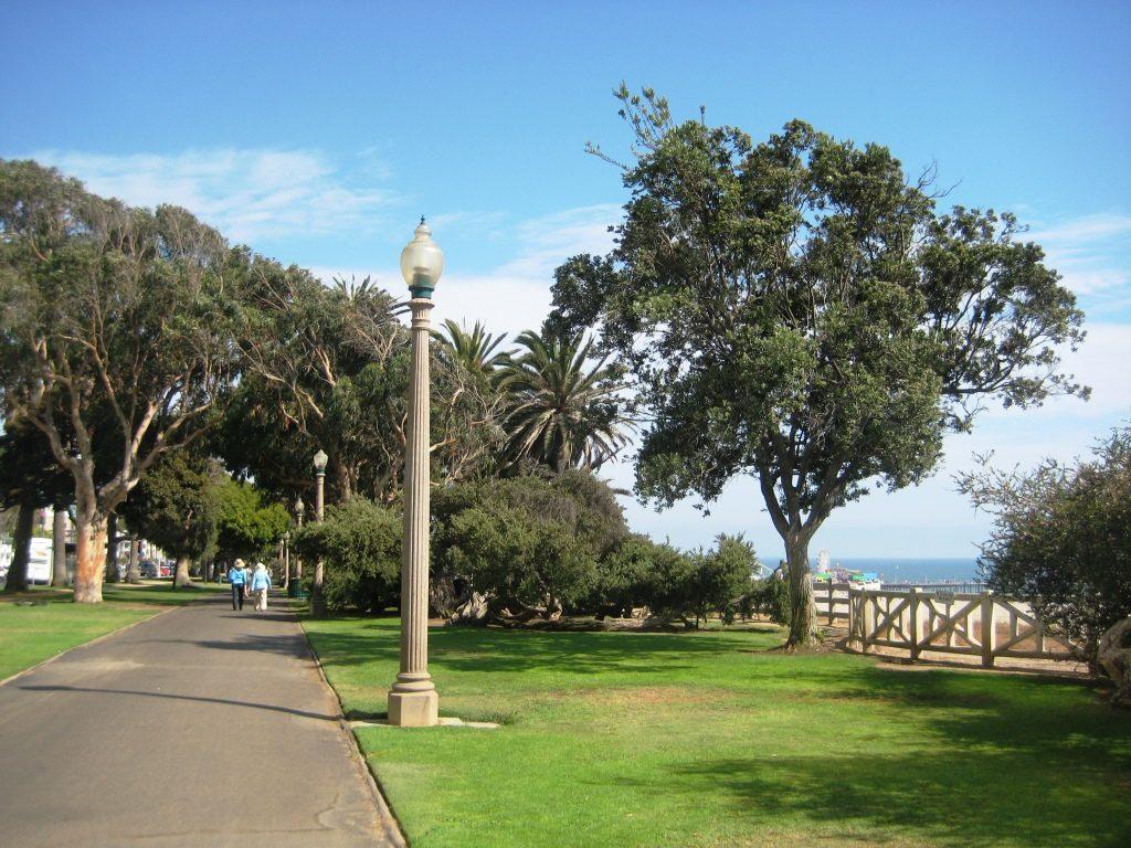 Santa Monica coastal park