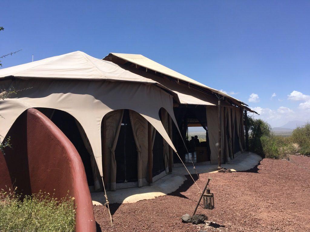 main tent exterior
