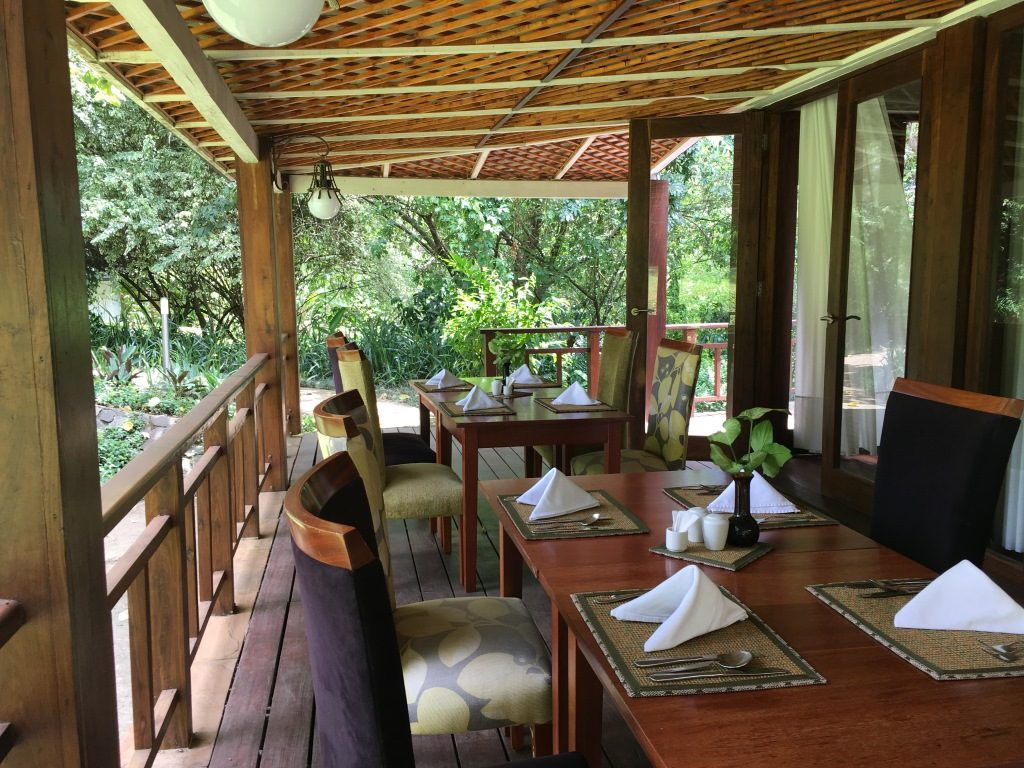 terrace of lake duluti lodge