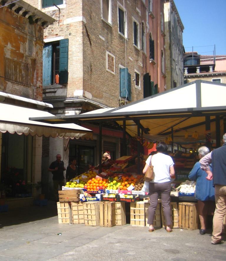 Venice, Rialto fruit market