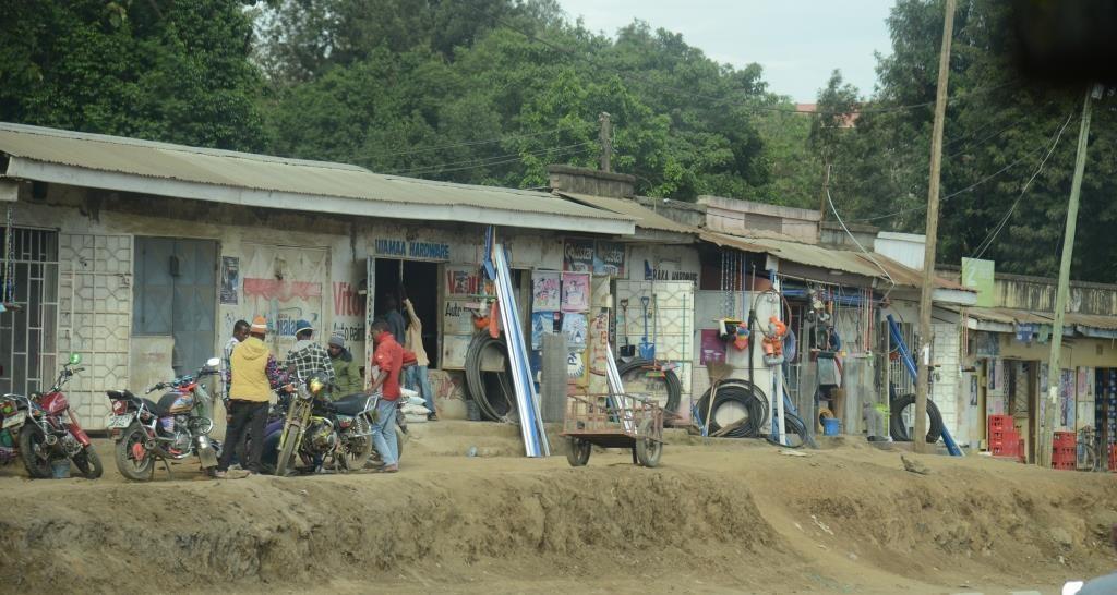 street near Arusha
