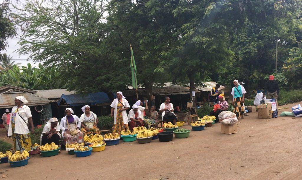 street market Tanzania