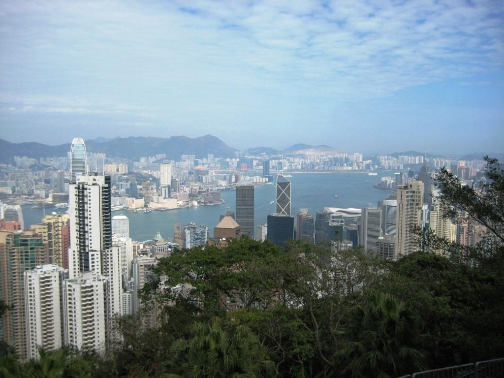 view from the Peak Circle Walk