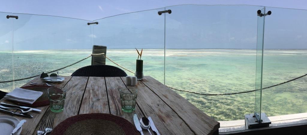Melia Zanzibar Jetty Restaurant Panorama