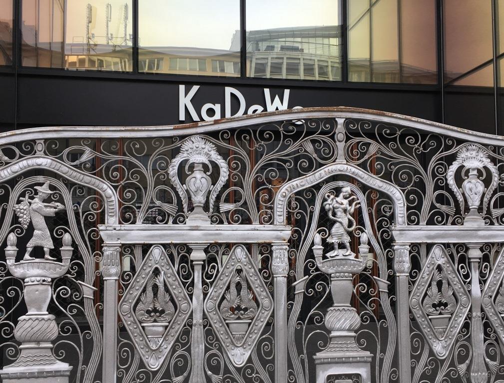 KaDeWe entrance gate