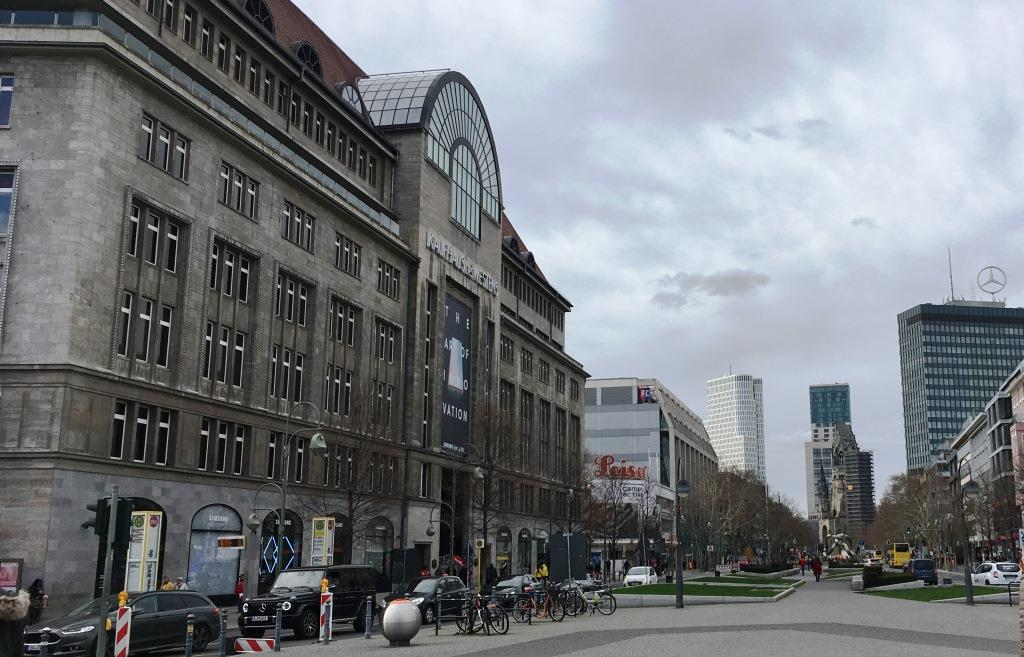KaDeWe building, Berlin