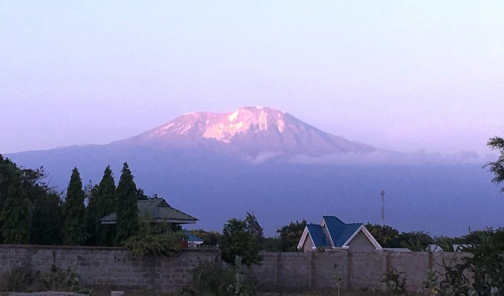 Kilimanjaro from Boma N'gombe