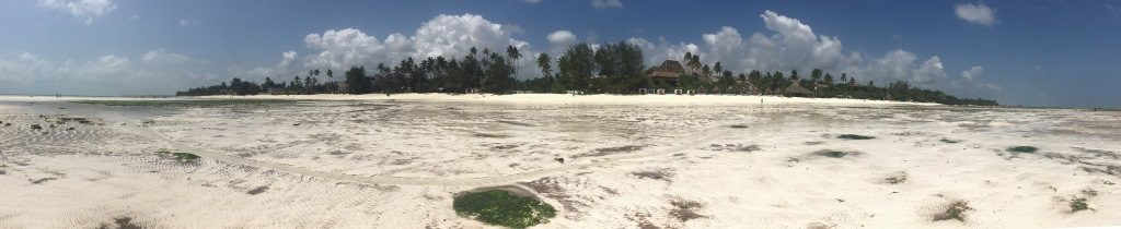 Kiwengwa beach panorama
