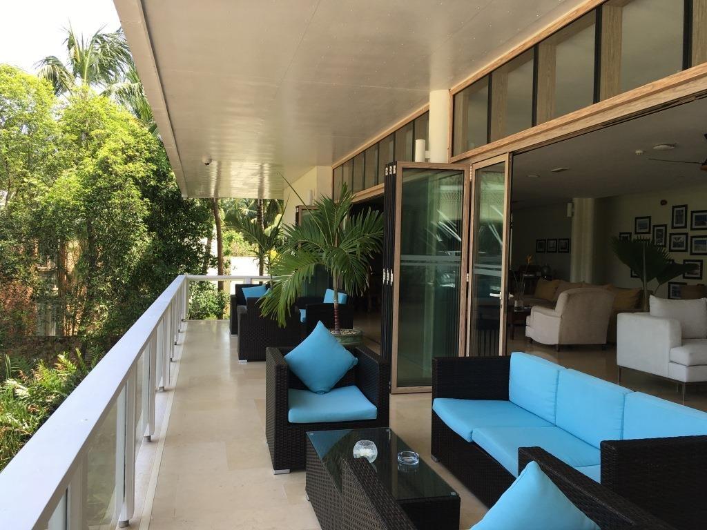 Melia Zanzibar second floor terrace