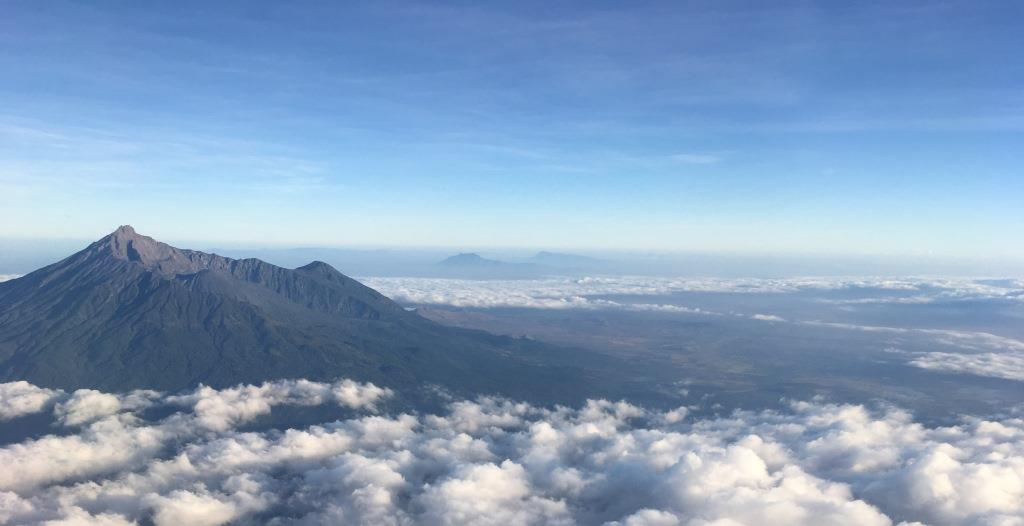 Mount Meru from above
