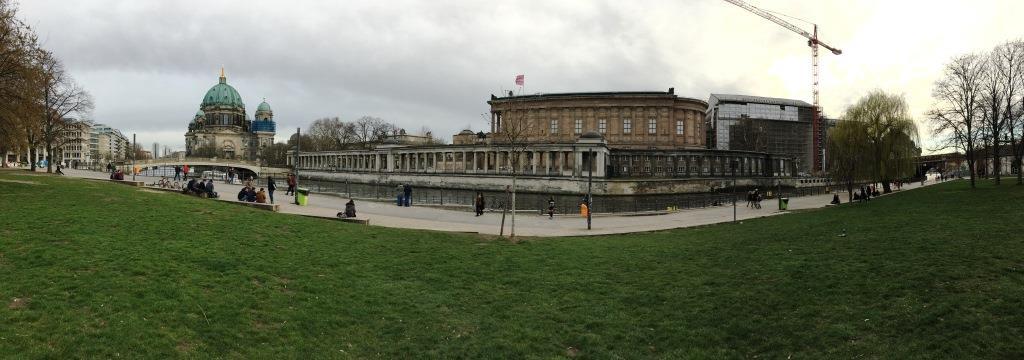 Panorama Museumsinsel