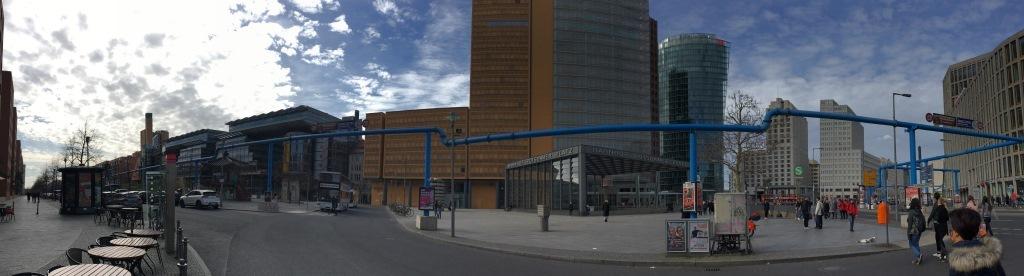 Panorama Potsdamer Platz