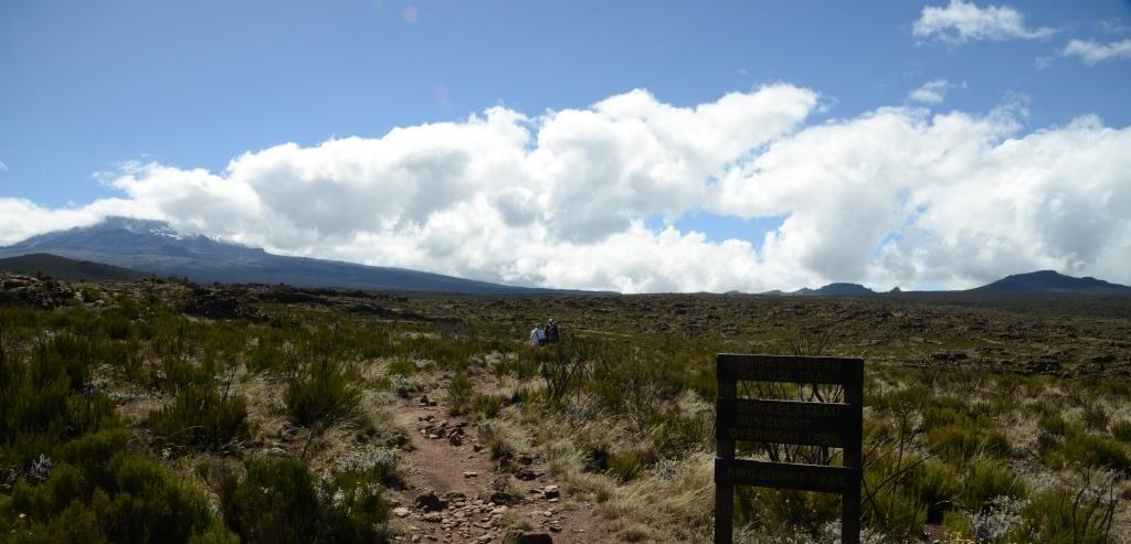 Shira Plateau walk