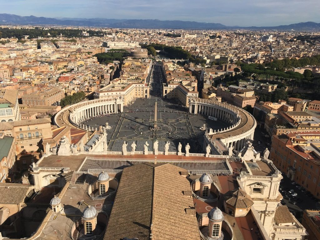 View over St Peter's Square