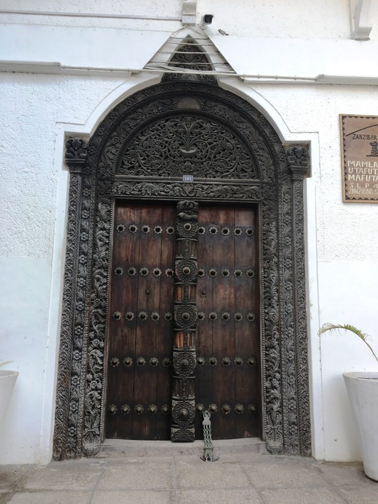 Door in Stone Town