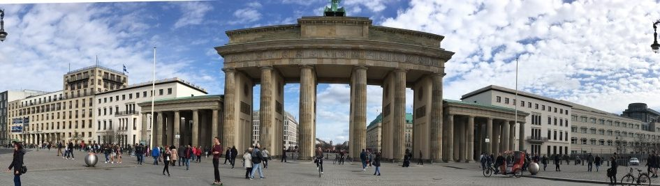 Brandenburg Gate Panorama