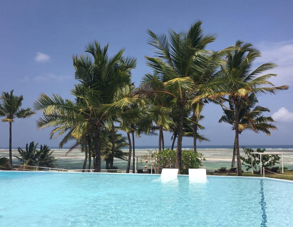 favorite pool spot at Melia Zanzibar