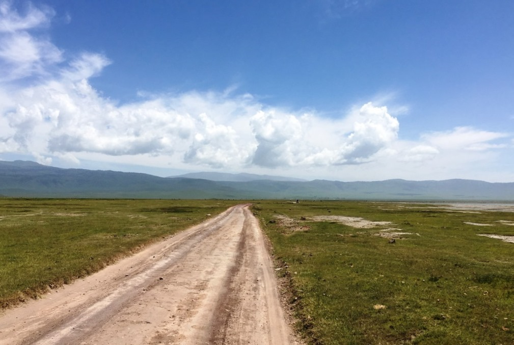 road at Ngorongoro