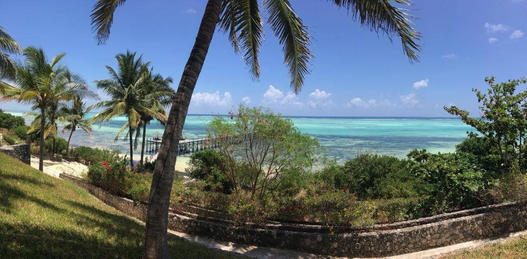 sea view from pool at Melia Zanzibar