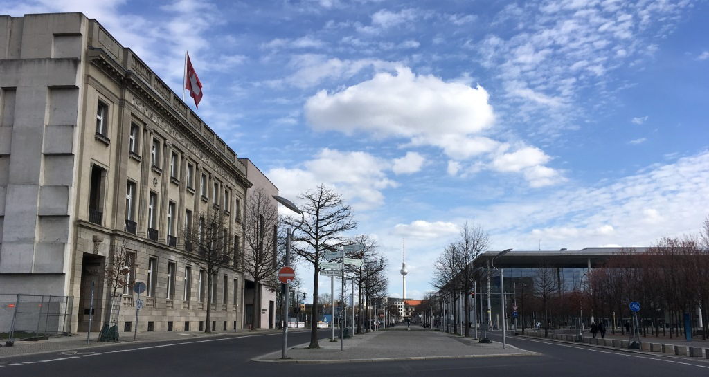 swiss embassy and parliament building