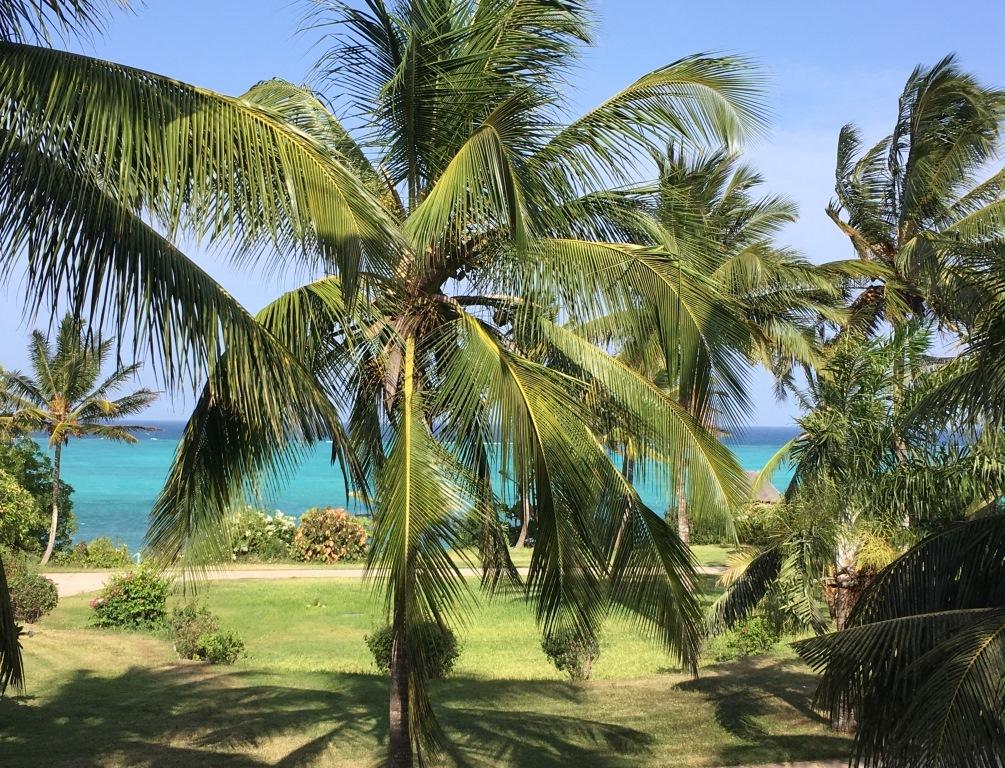 Melia Zanzibar ocean view from balcony