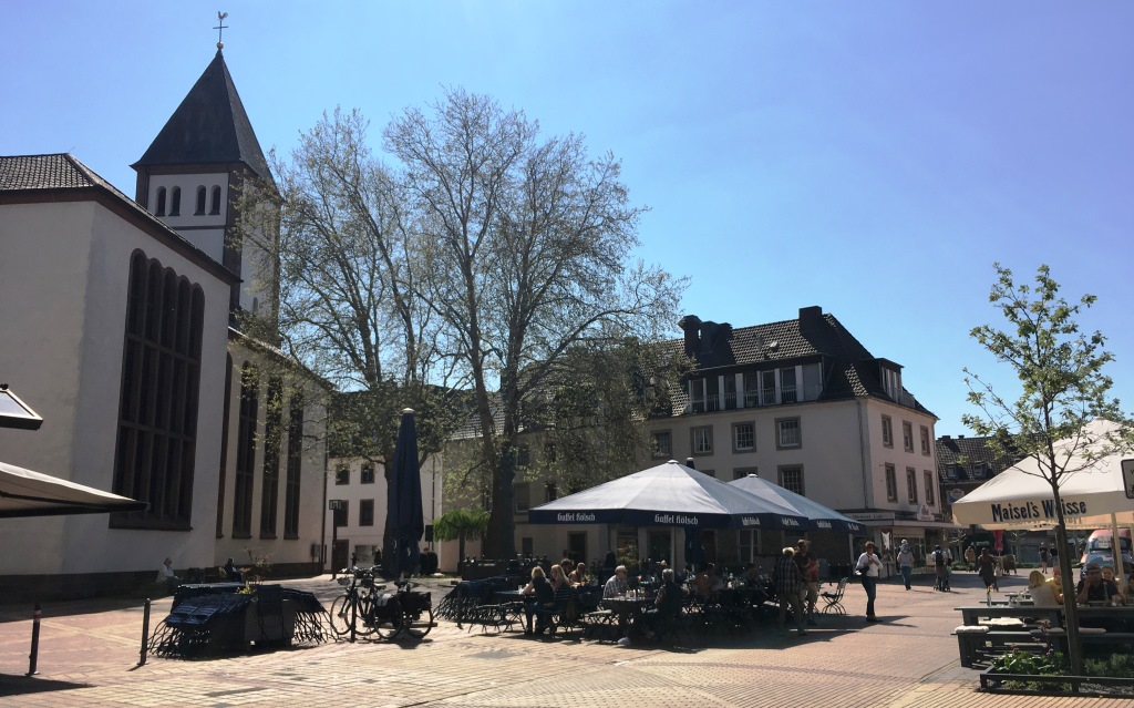Juelich Chruch Square