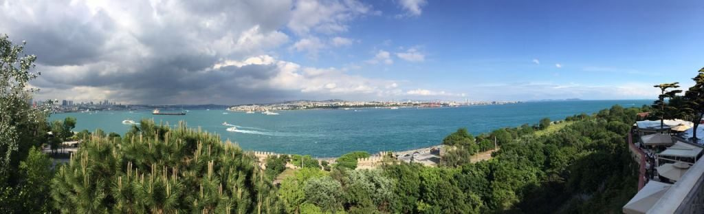 view from Topkapi