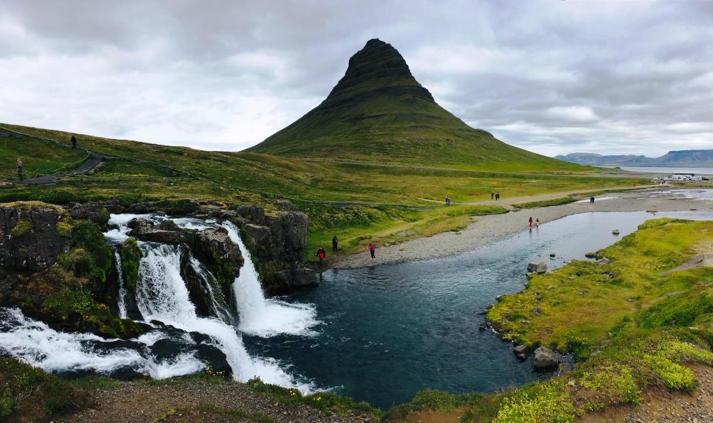 Kirkjufell Mountain and Waterfall