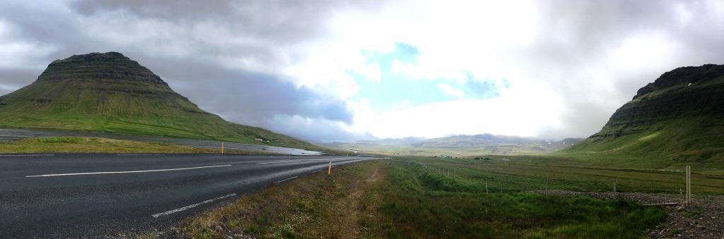 Kirkjufell Mountain, back side